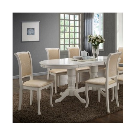 Raztegljiva miza NELKA bela
