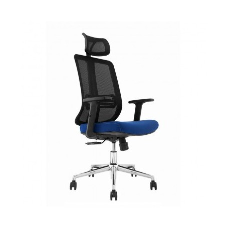 Office chair MANNA black+blue