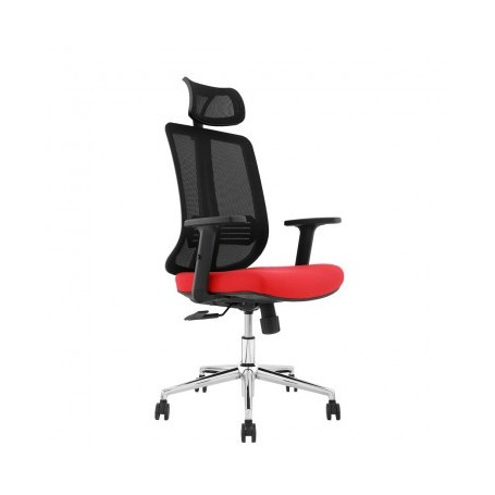 Office chair MANNA black+red