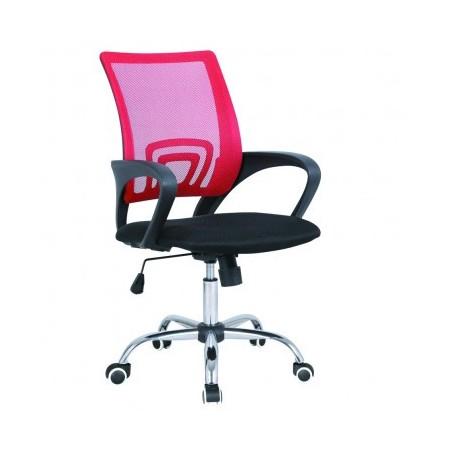 Pisarniški stol RENE rdeč
