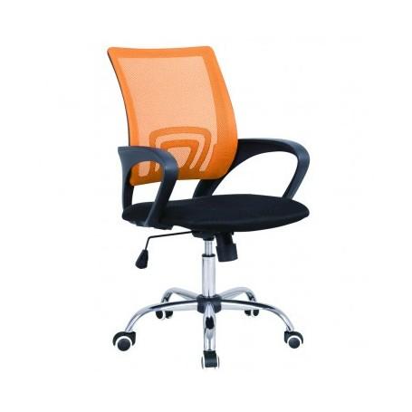 Pisarniški stol RENE oranžen
