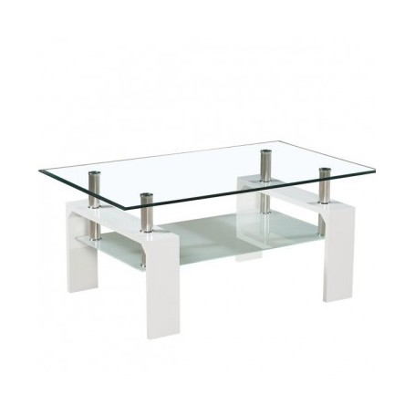 Coffee table TROX white