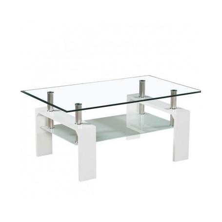 Klubska miza TROX bela