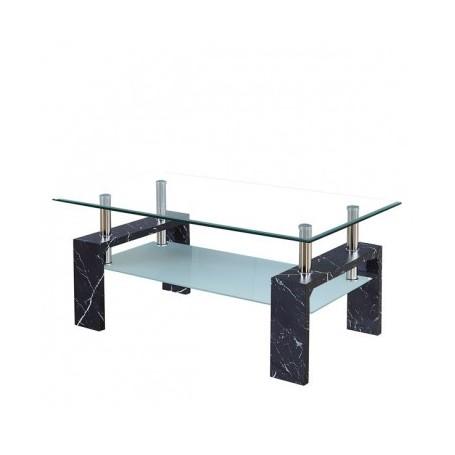 Klubska miza TROX marmor