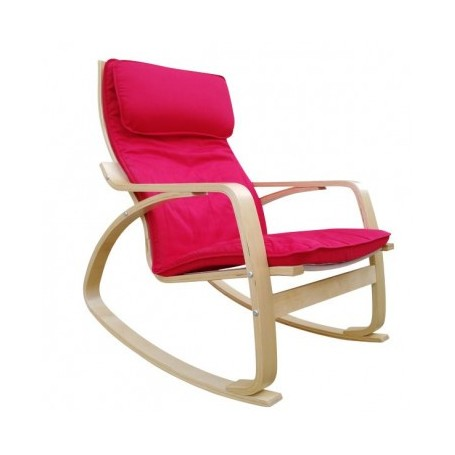 Relax chair ROK red