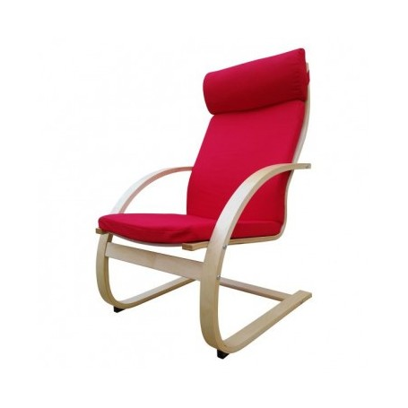 Relax chair KLIK red