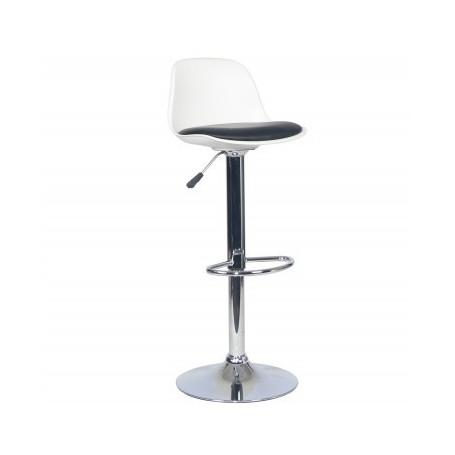 Barski stol BT10 II bel + črn
