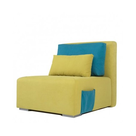 Relax chair YOUTH yellow + blue