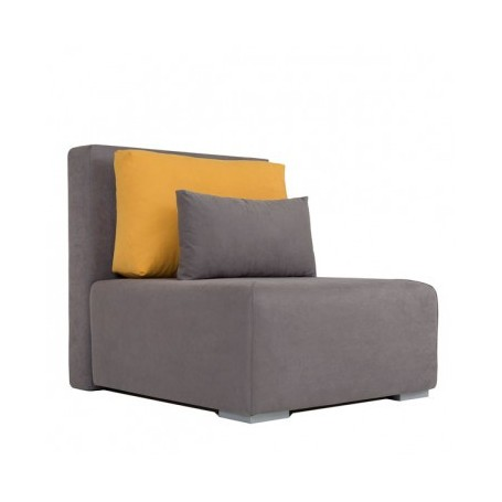 Relax chair YOUTH grey + orange
