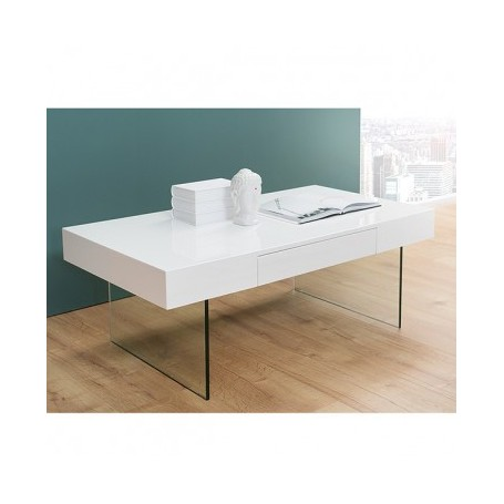 Coffee table ZONA white + cement