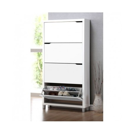 Shoe rack WHITE 4