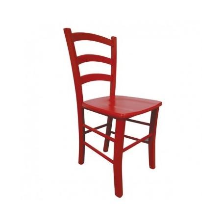 Kitchen chair JISANA red