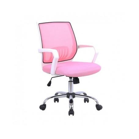 Pisarniški stol META roza