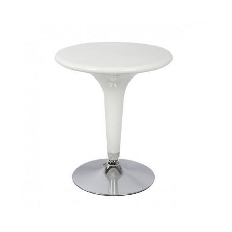 Barski miza TIDI bela ABS