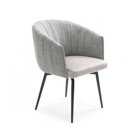 Chair ROUND grey