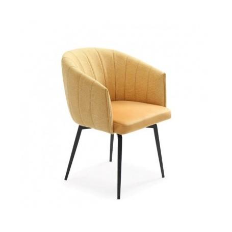 Chair ROUND yellow