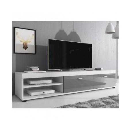 TV regal MILA bela + siva