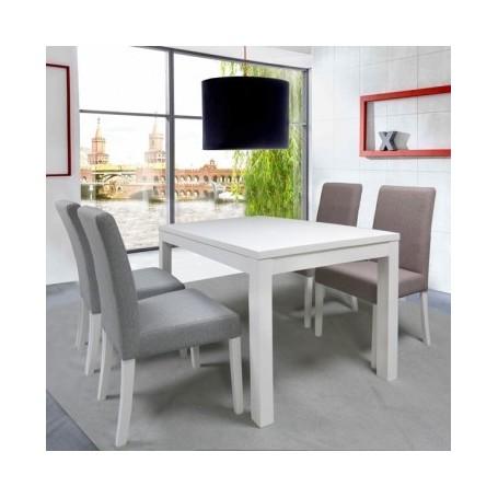 Chair NENSI pink + white