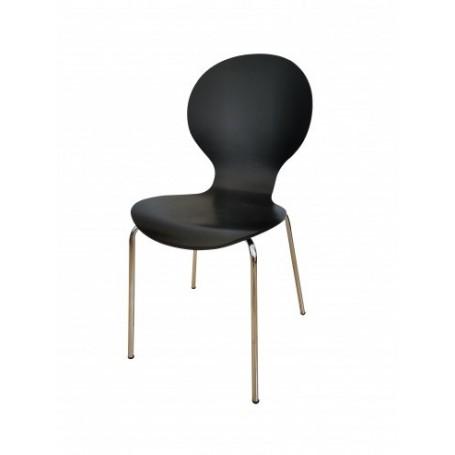 Stol PLANE 3 črn