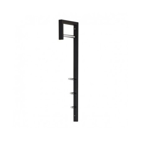 Coat hanger BINA black