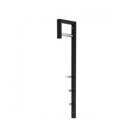 Obešalnik stenski BINA črna