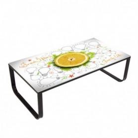 Klubska miza GLANN citrus