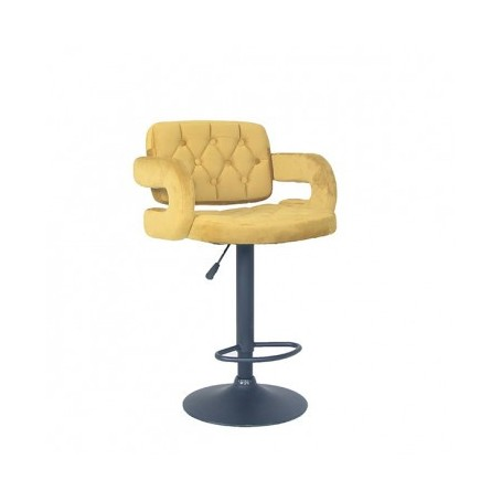 Barski stol LEONA rumena
